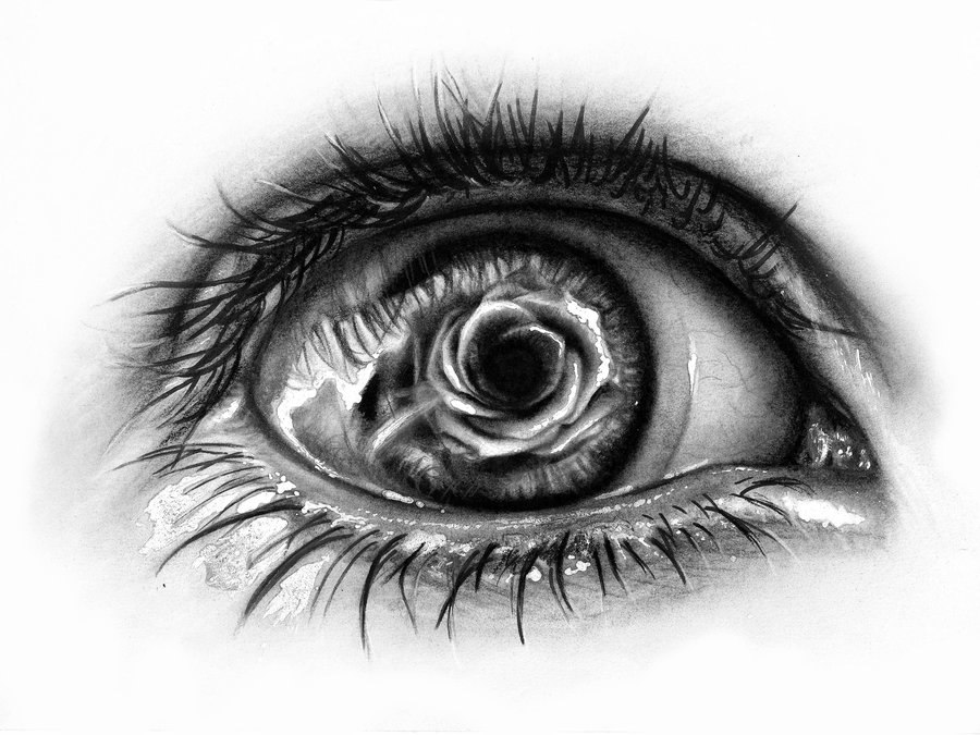 рисунки тату глаз