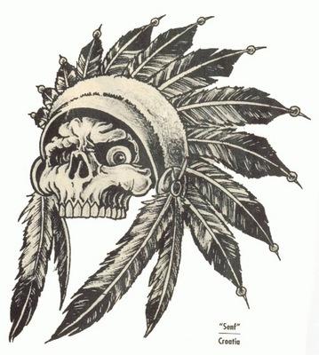Индейские татуировки tattoo indian
