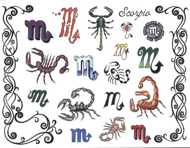 Татуировки знаки зодиака