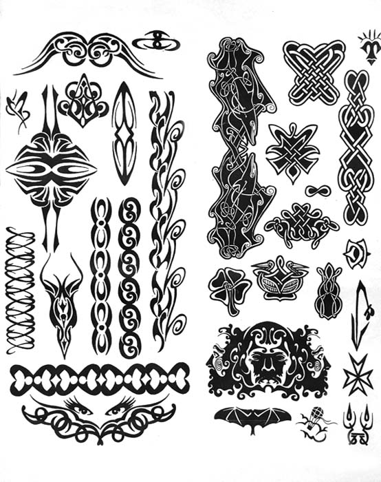Tattoo sketches tribal тату трайбл